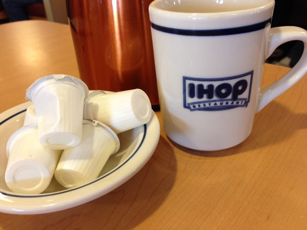 IHOP Coffee and Cream