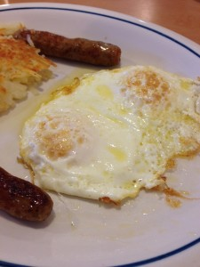 IHOP Eggs and Sausage