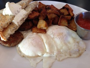 The Sleepy Bee Cafe - Fried Eggs1