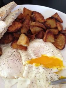 The Sleepy Bee Cafe - Fried Eggs2